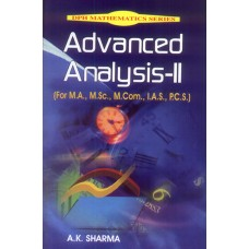 Advanced Analysis-II